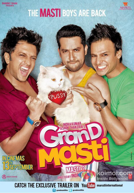 Grand Masti Movie Stills