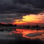HD Water Sunset Pix