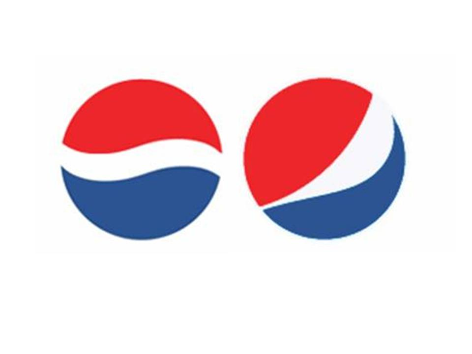 Old and New Pepsi Logo