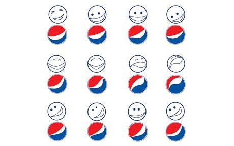 Pepsi Logo Smiles