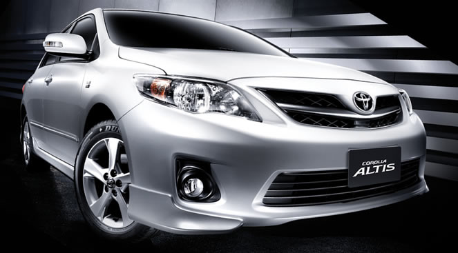 Toyota corolla Altis Wallpapers