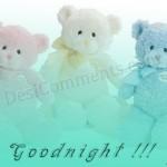 cute good night