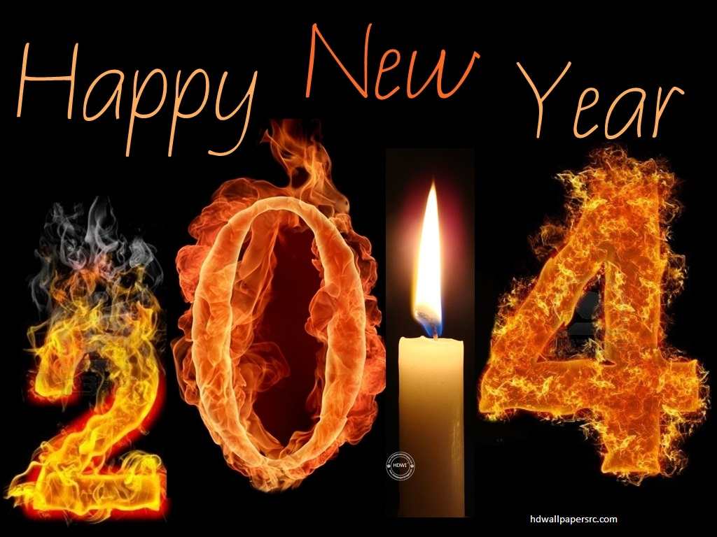 2014 Happy New Year HD Wallpaper