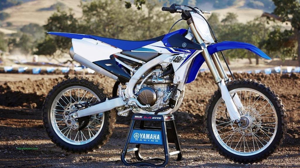 2014 Yamaha YZ450F EU Racing Blue Static