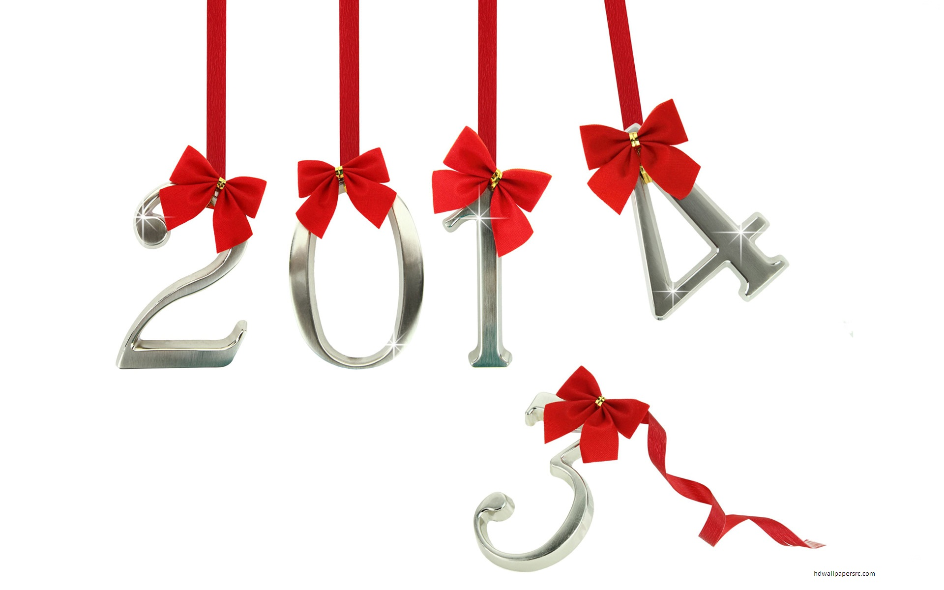 Happy New Year 2014 HD Wallpaper