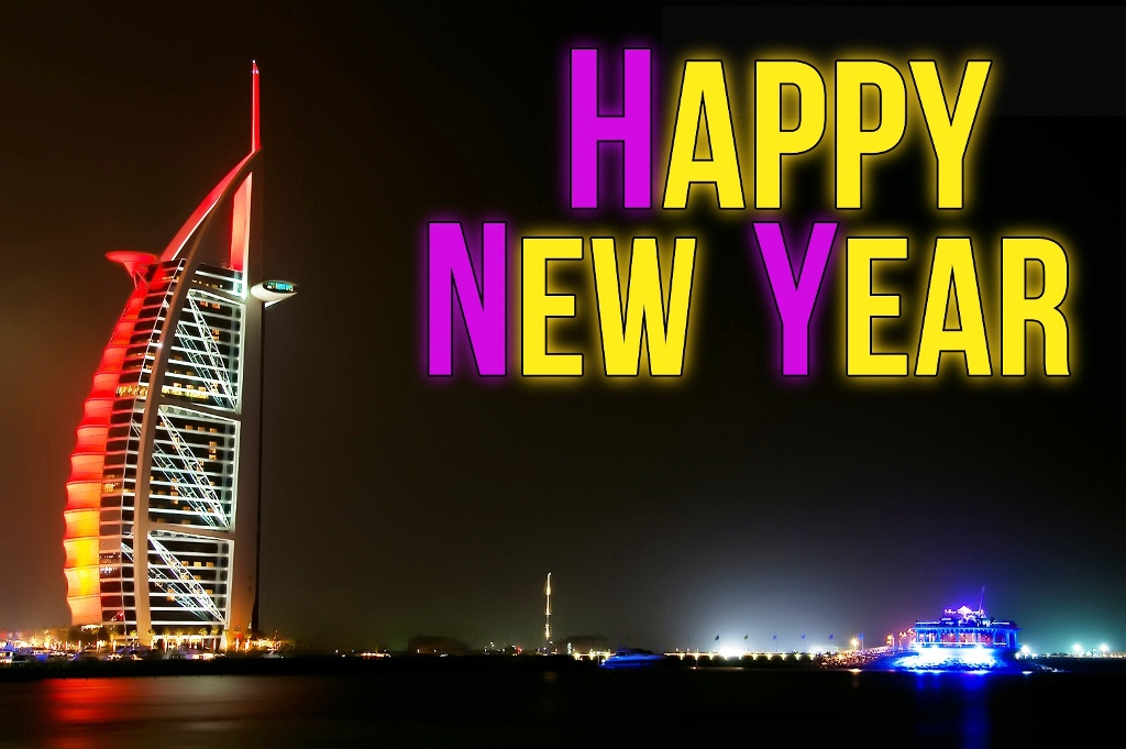 HD Happy New Year 2014 Wallpaper