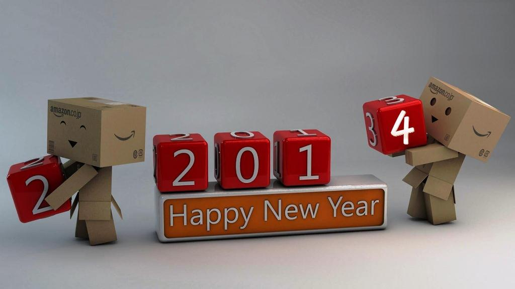 Cute Happy New Year 2014 Wallpapers