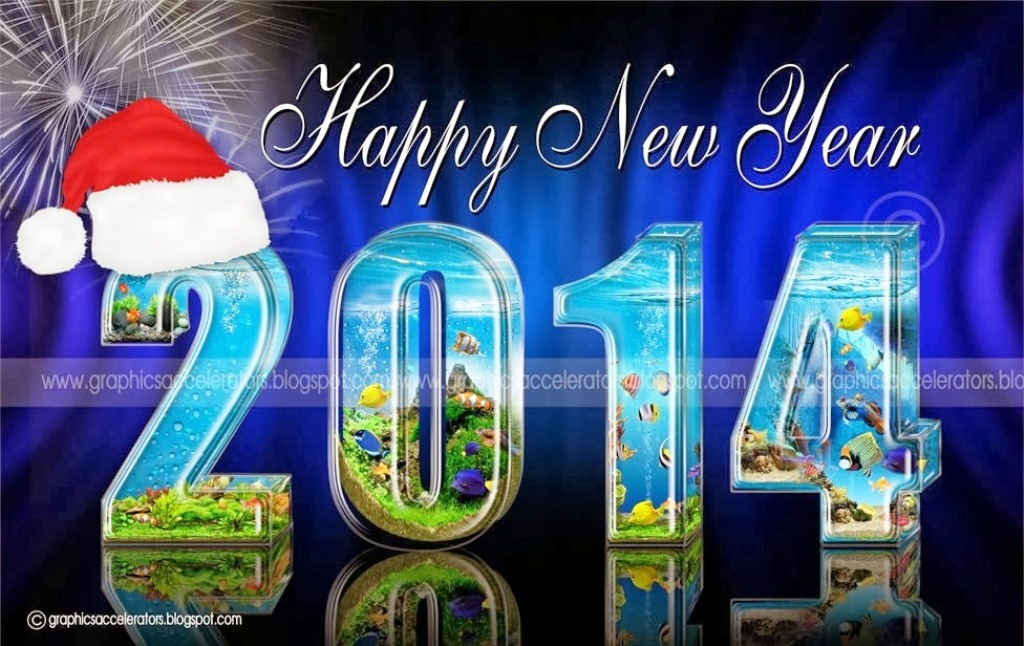Free Happy New Year 2014 Wallpapers