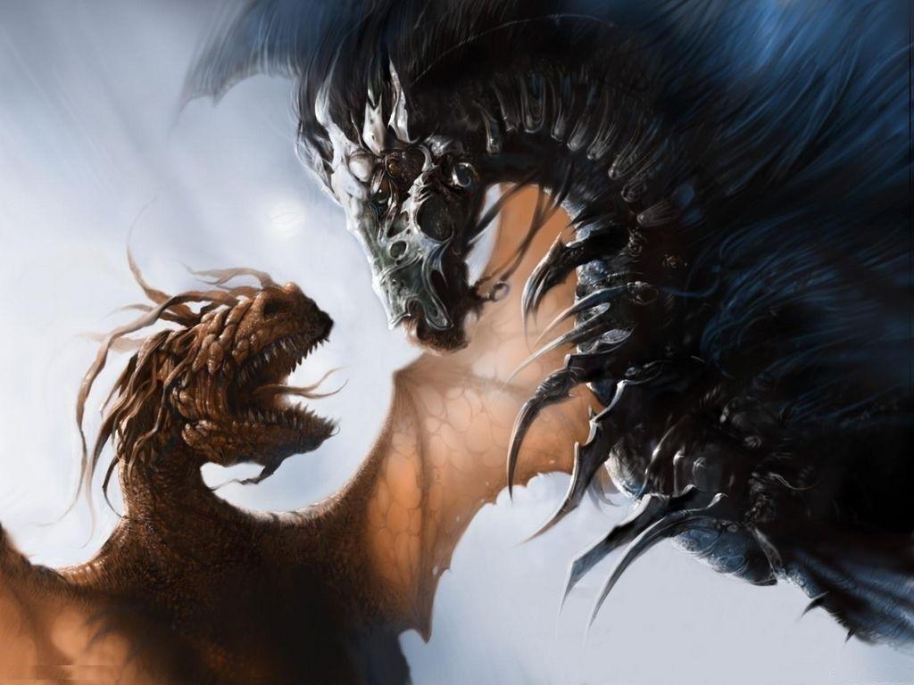 3D Dragon Fantasy HD Photo