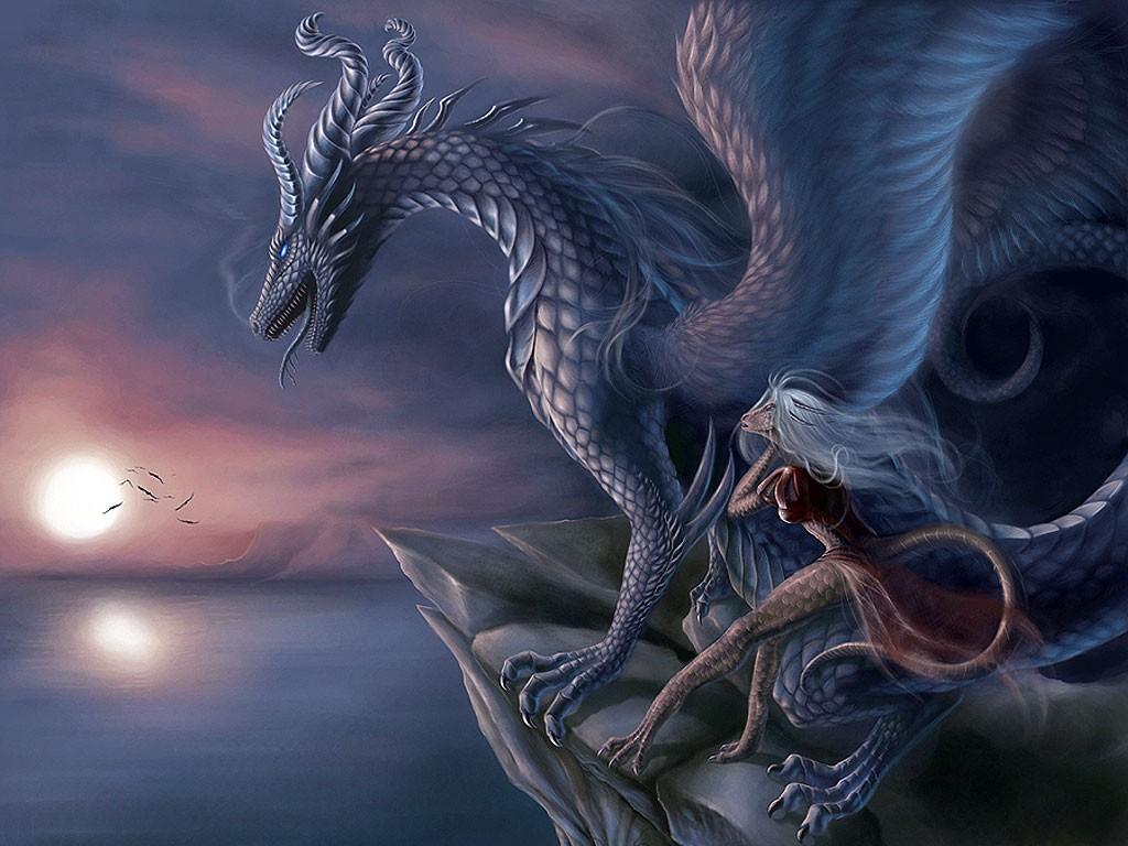 3D Dragon Fantasy Wallpaper & Pics