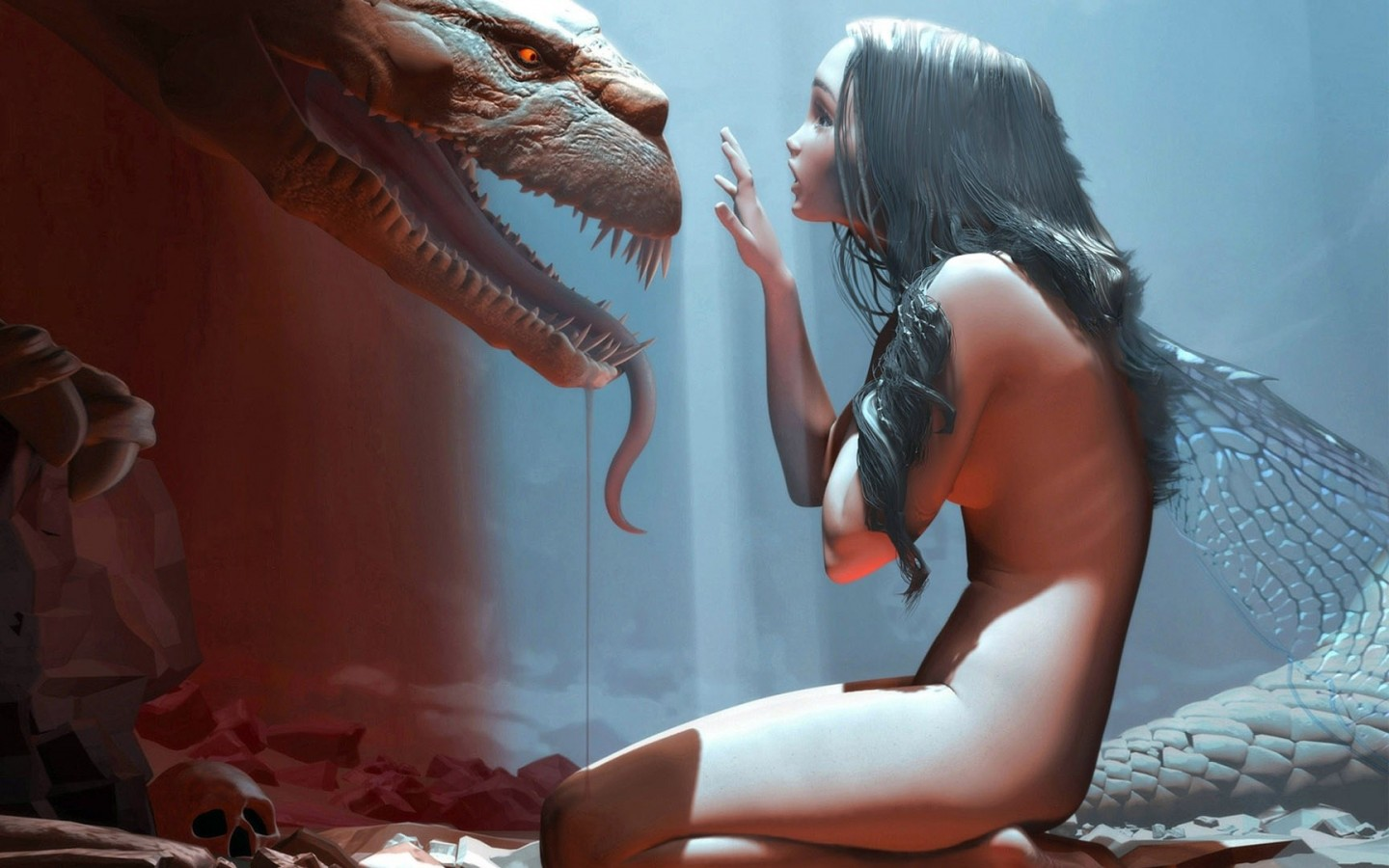 3d dragon girl fucking photo