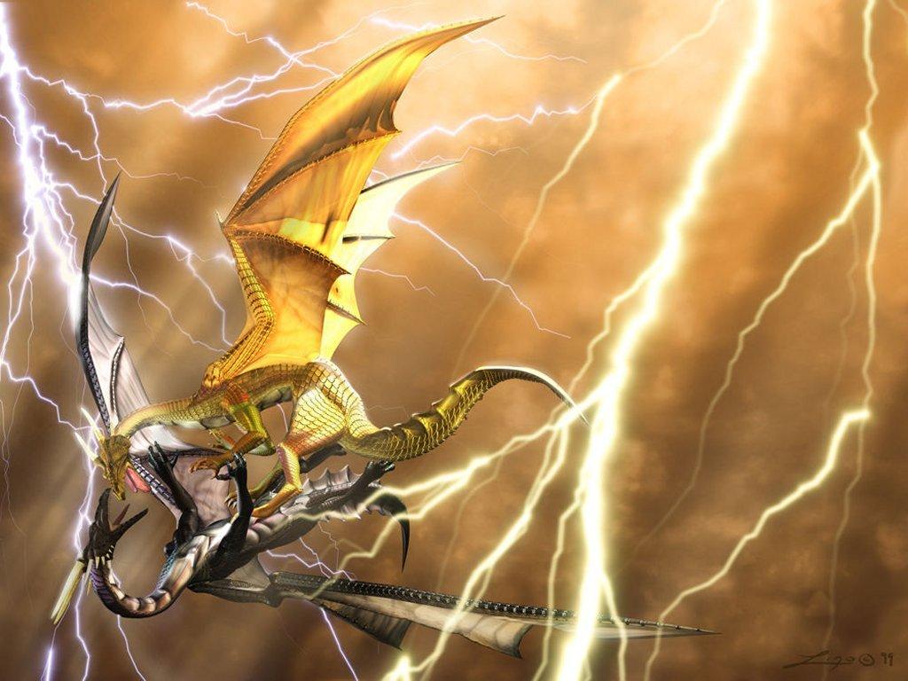 3D Dragon Fantasy  Wallpapers