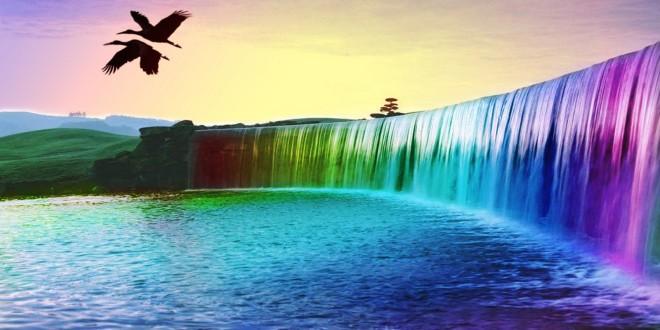 3D Waterfall Photos & wallpaper