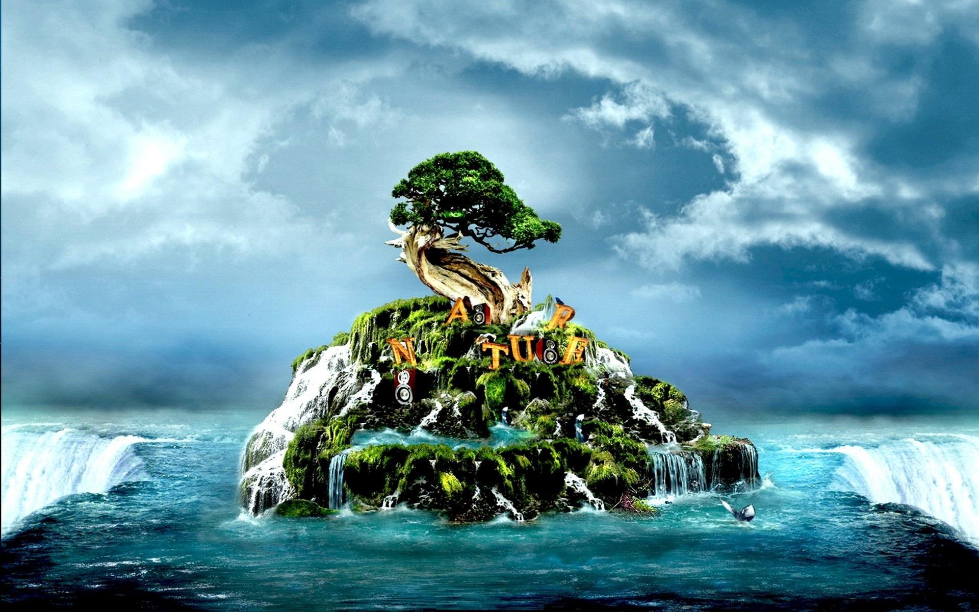 3D Waterfall Photos