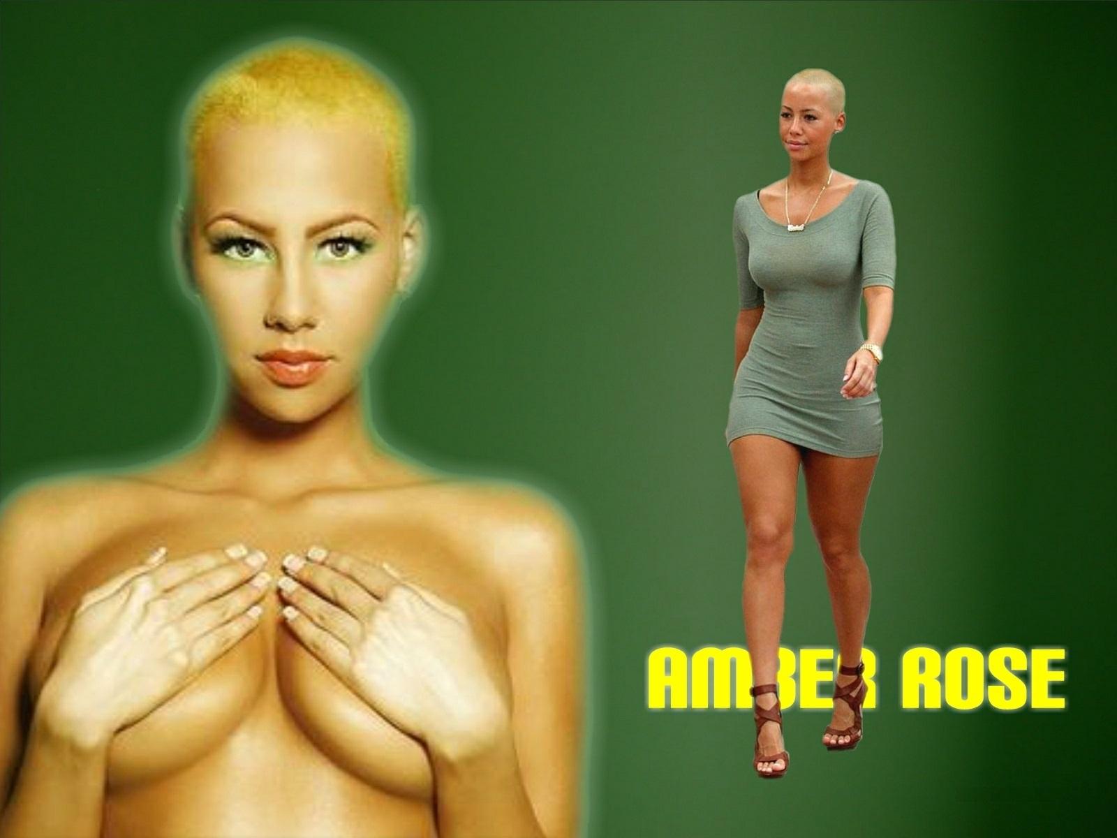 Amber Rose Desktop Photos & hot images