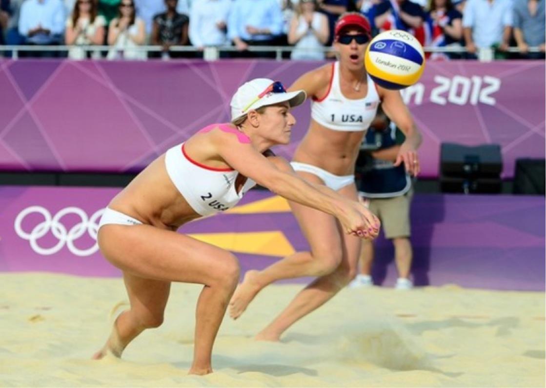 Beach Volleyball Hd photo