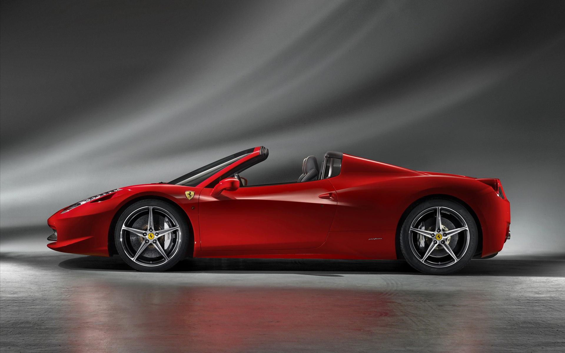 Ferrari 458 Spider Car Hd Pictures