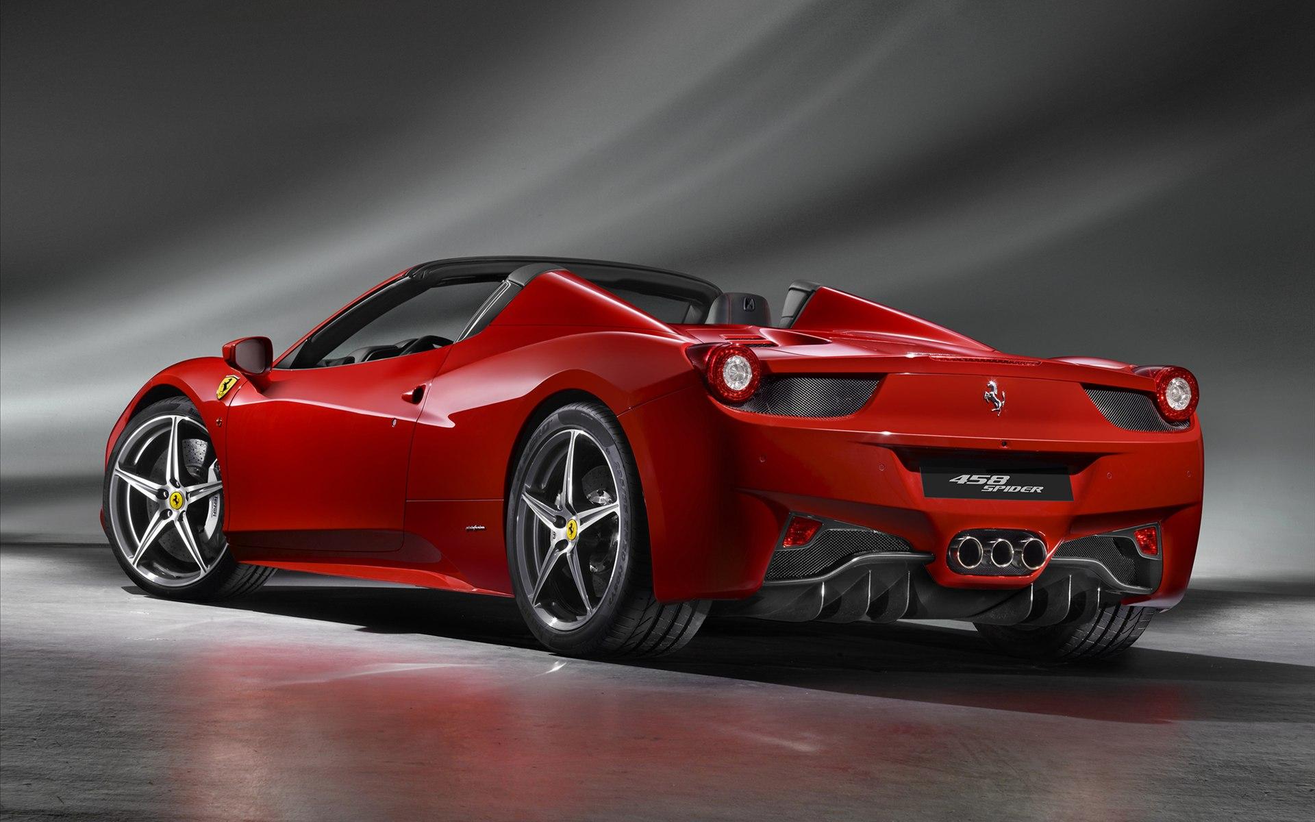 Ferrari 458 Spider wallpapers & pics
