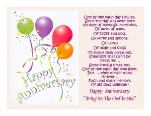 Full HD Happy Anniversary Balloons Greeting Card