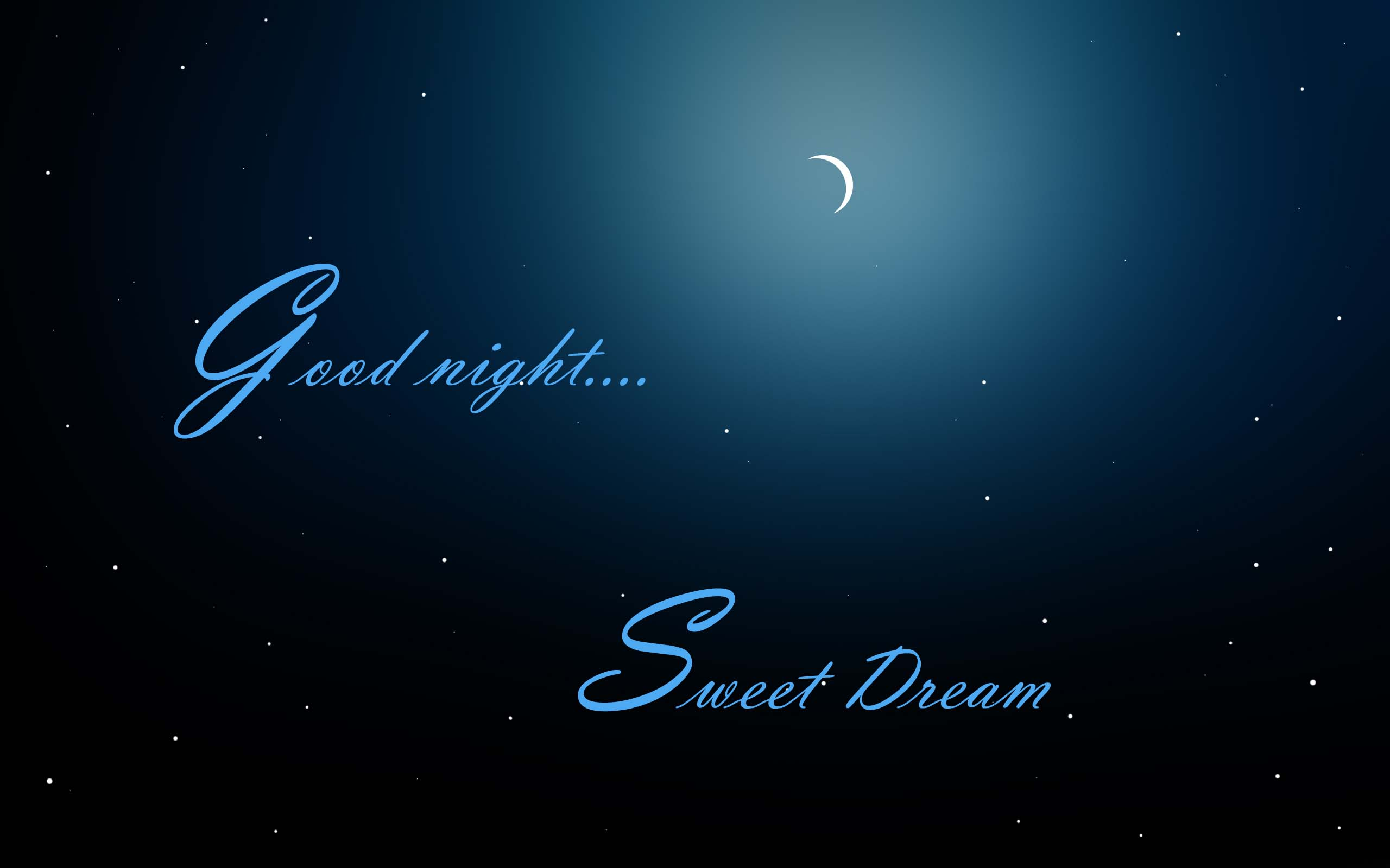 Good Night Sweet Dreams Wallpaper & Pictures