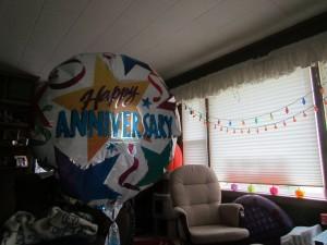 Happy Anniversary Balloon Picture
