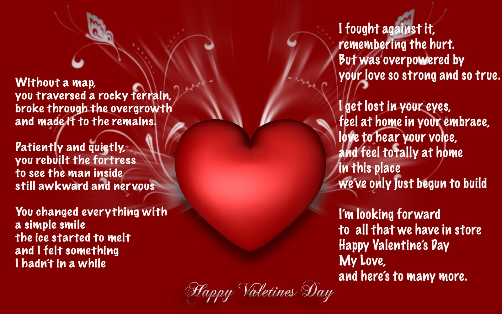 Happy Valentines Day Cards Wallpaper
