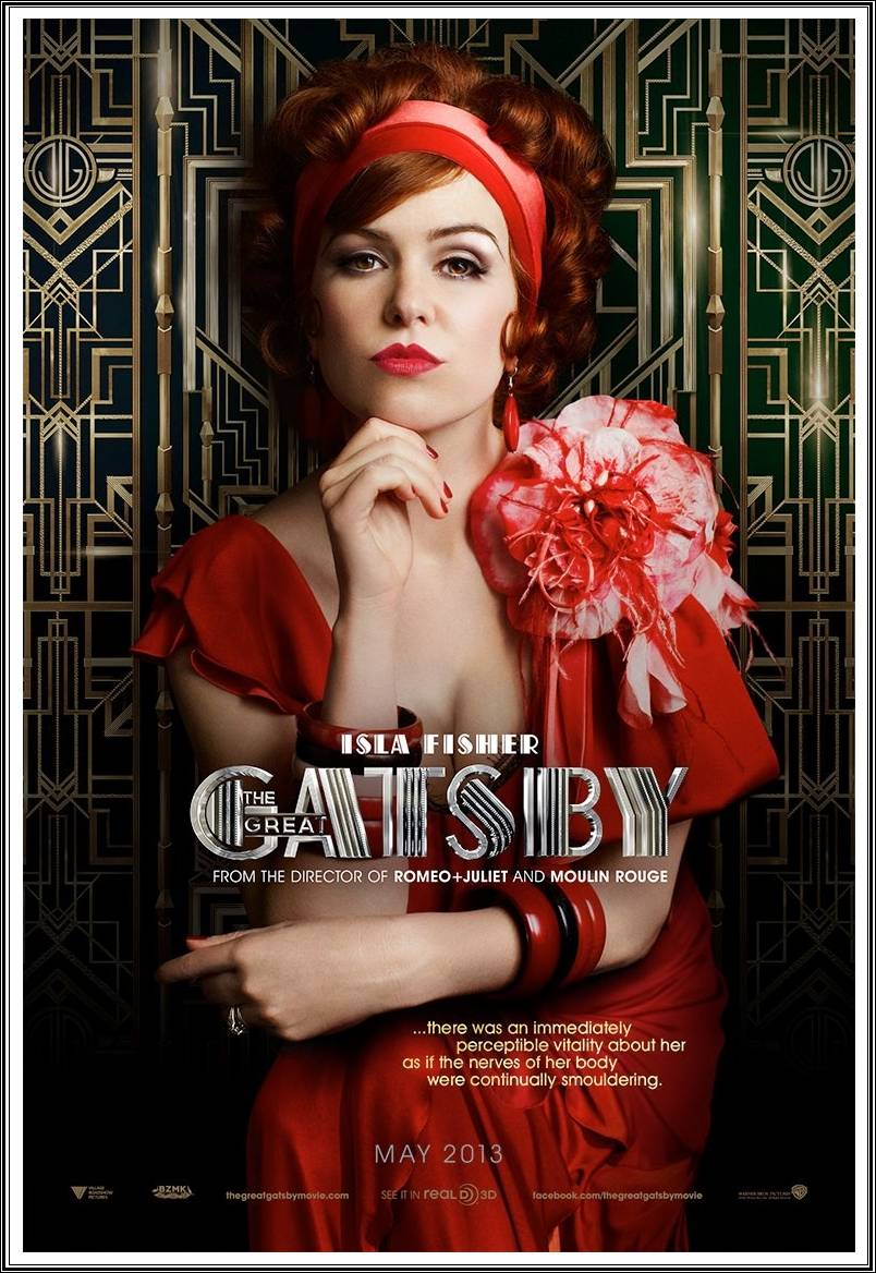 Isla Fisher The Great Gatsby 2013 HD Wallpapers