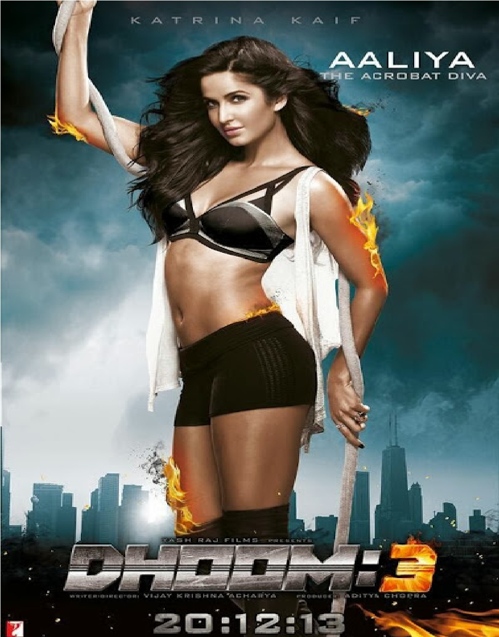 Katrina Kaif in dhoom 3 phoster