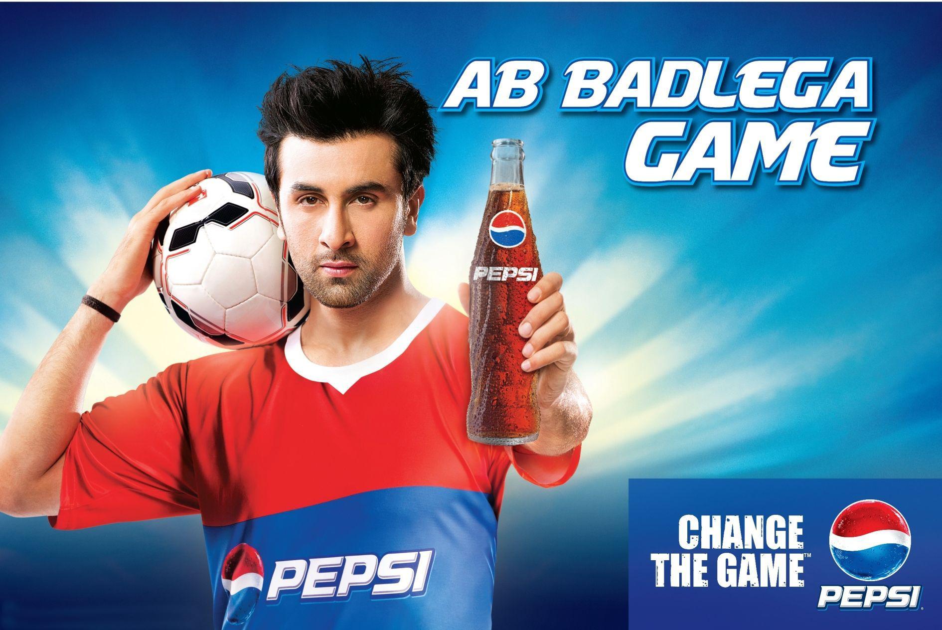 Ranbir Kapoor Cool Pepsi Picture