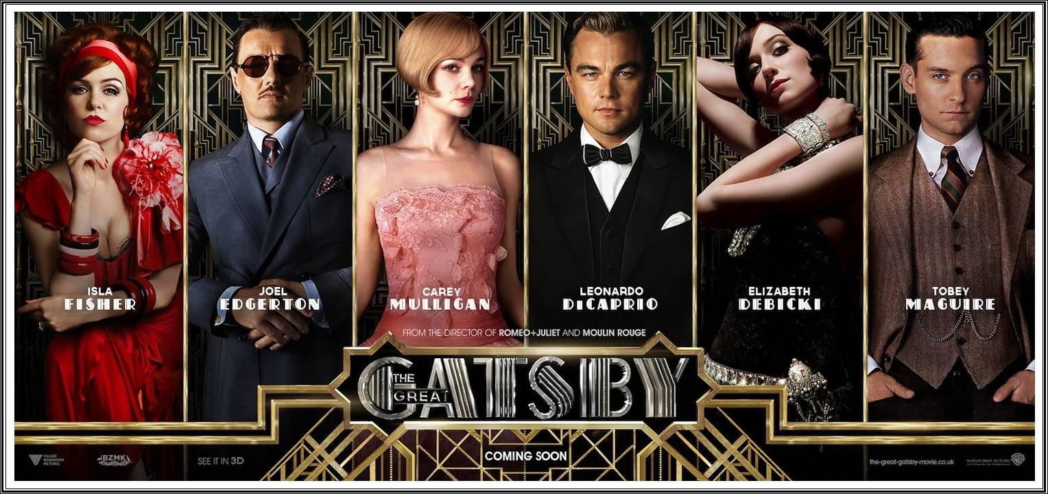 The Great Gatsby 2013 HD Posters Characters