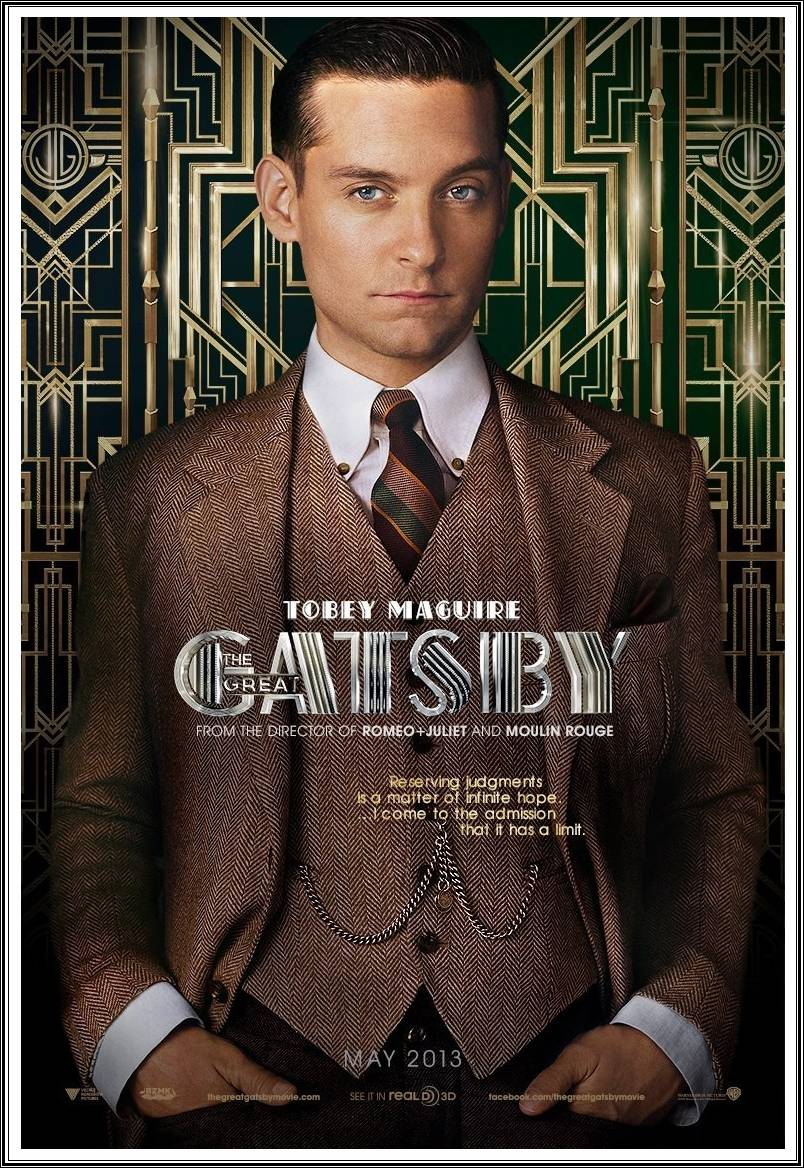 The Great Gatsby 2013 Tobey Maguire Movie Pictures