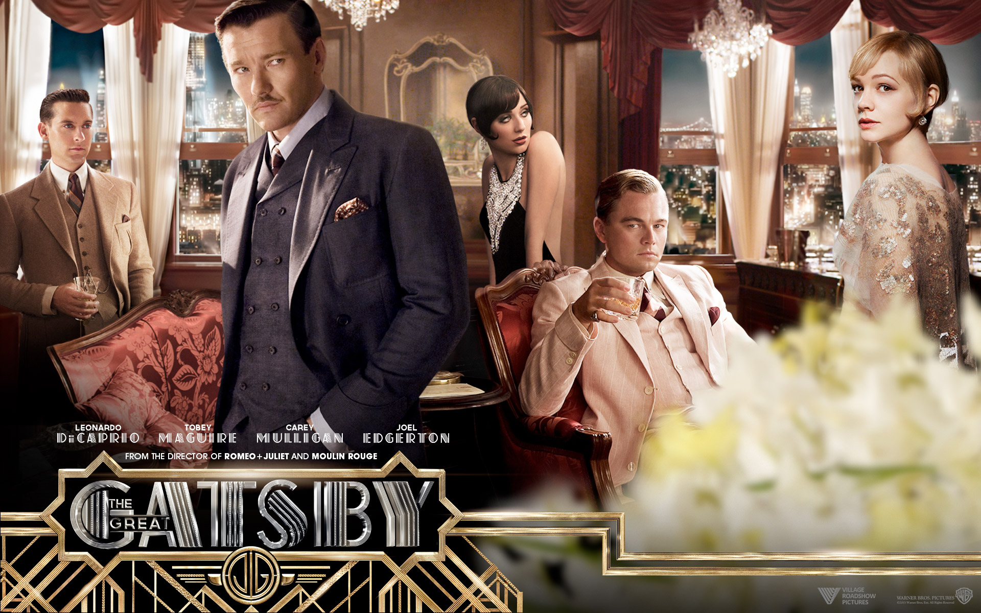 The Great Gatsby Movie Wide Photos
