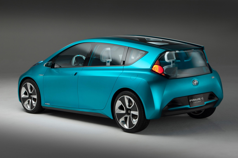 Toyota Prius c Concept Photos