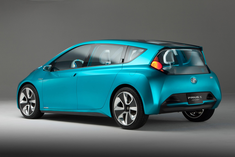 Toyota Prius c Concept Images