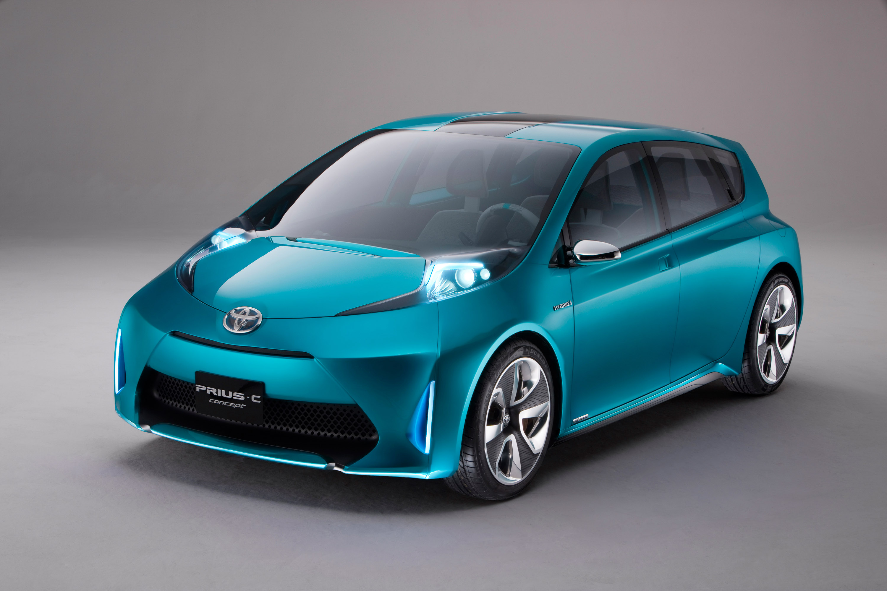 Toyota Prius c Concept HD Wallpapers