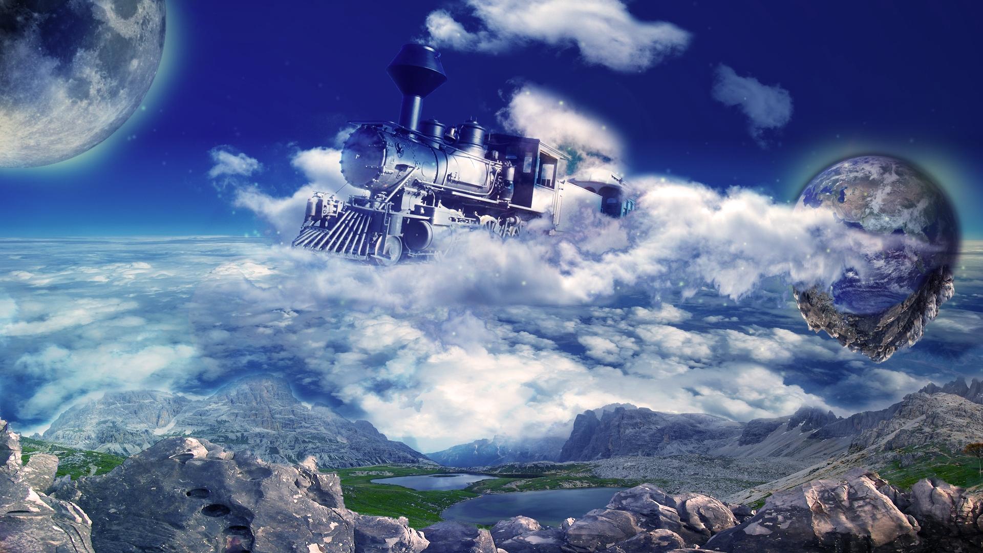 Train 3D Pictures