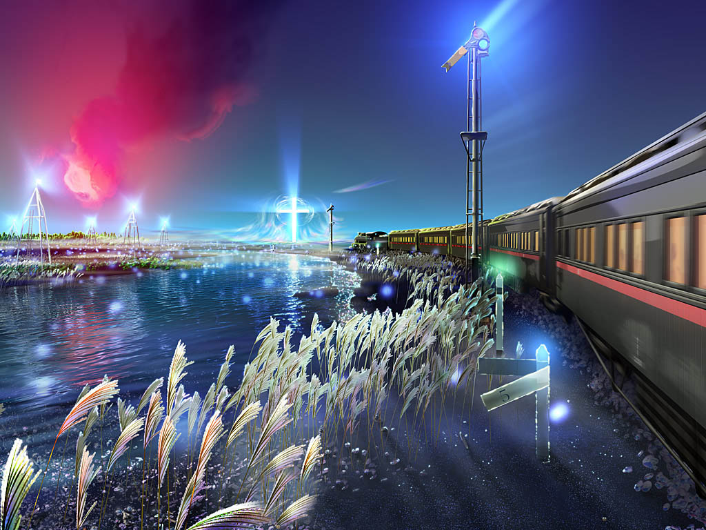 Train 3D Wallpapers