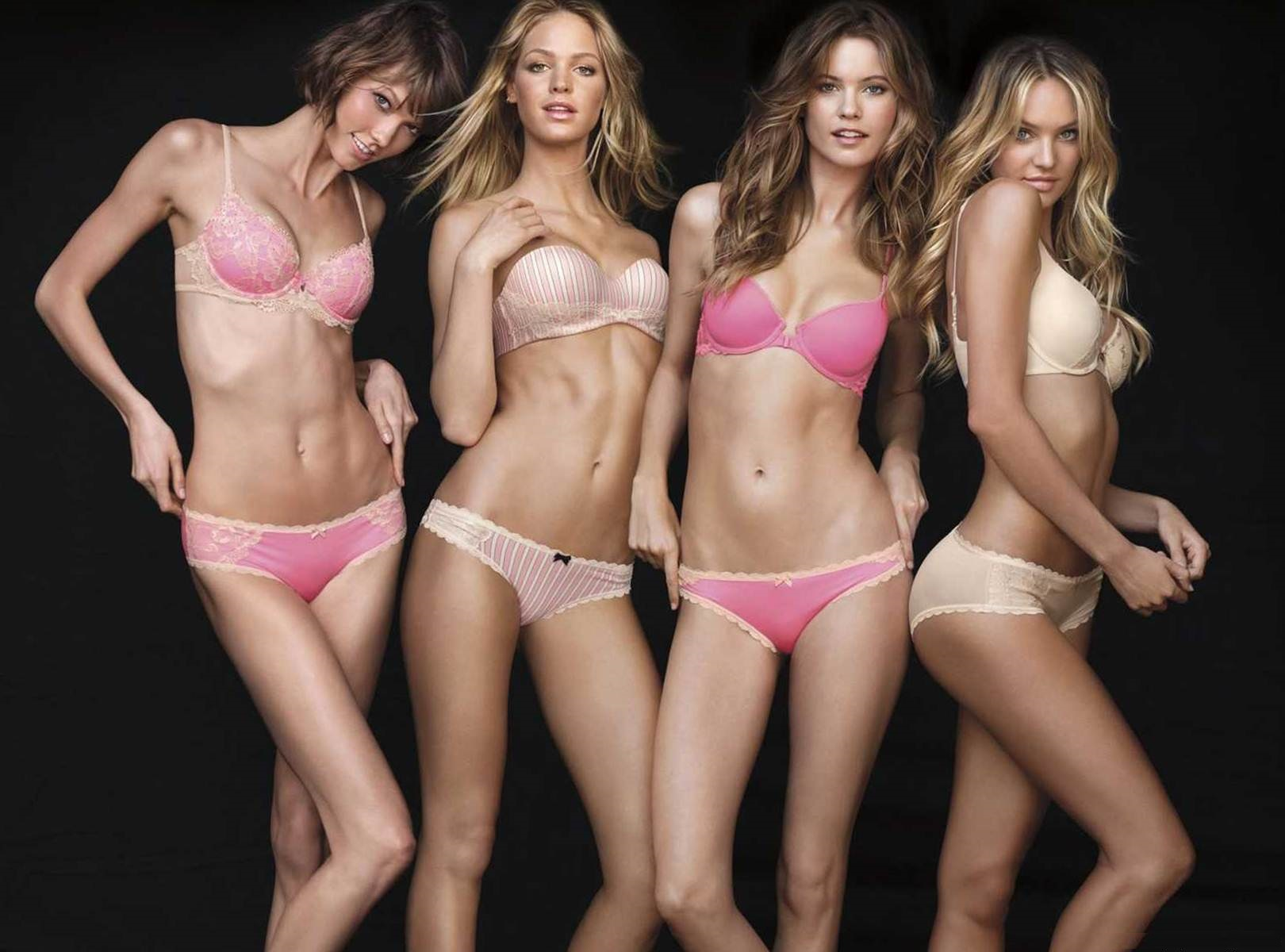 Victoria's Secret Fashion Show 2014 bras wallpaper