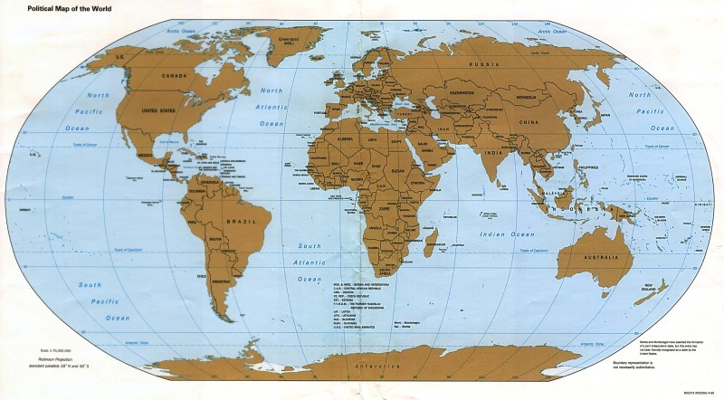 World Physical Map Wallpaper & Picture