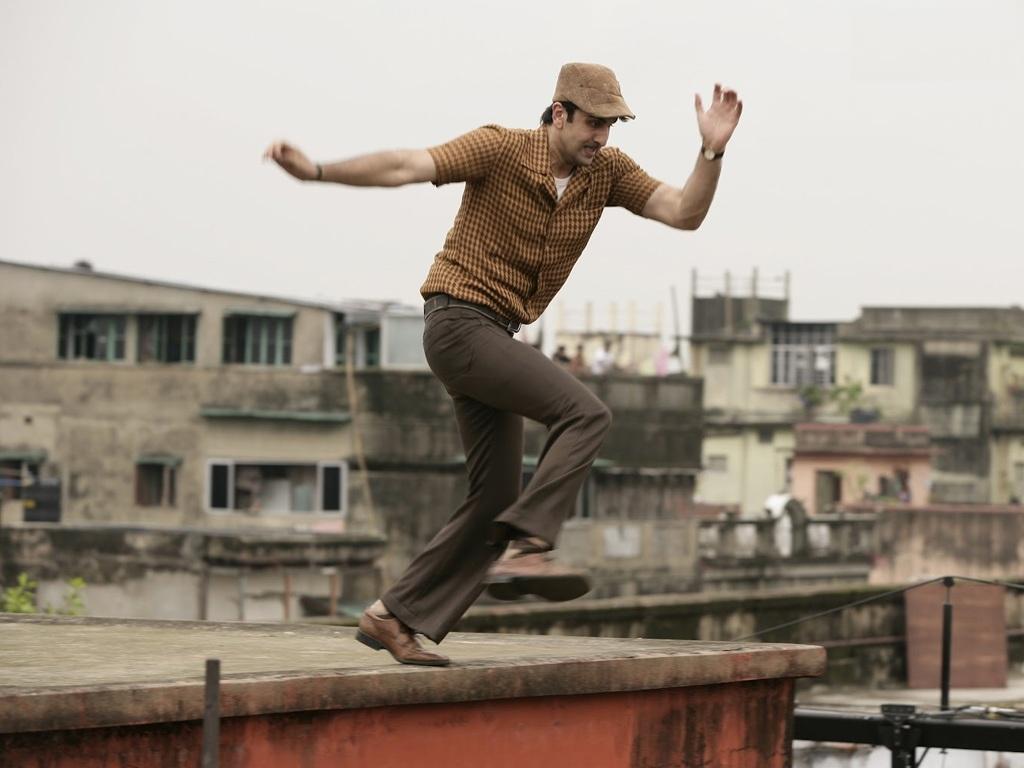 Ranbir Kapoor Jumping Pics