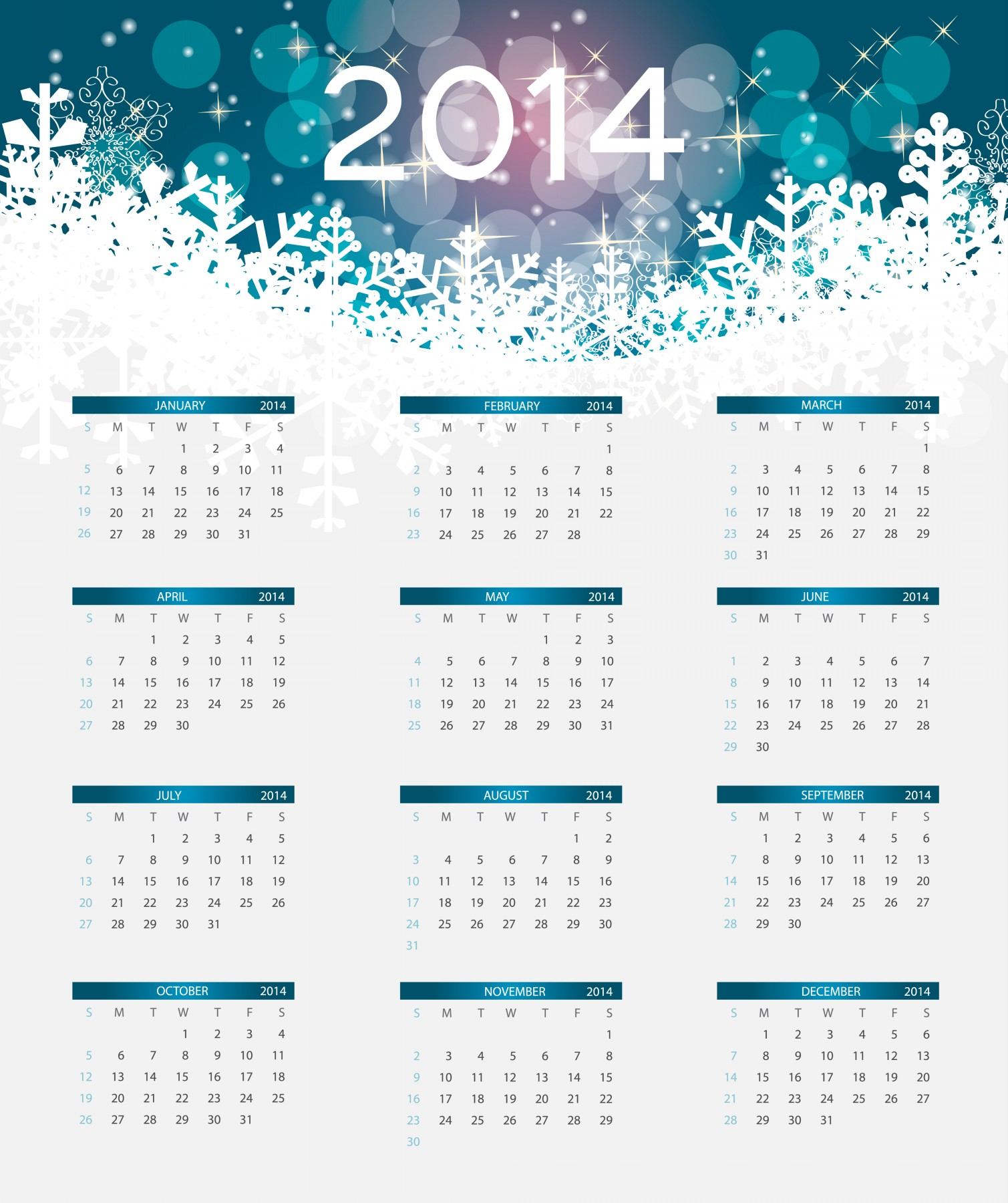 beautiful 2014 calendar pictures with holidays hd wallpapers