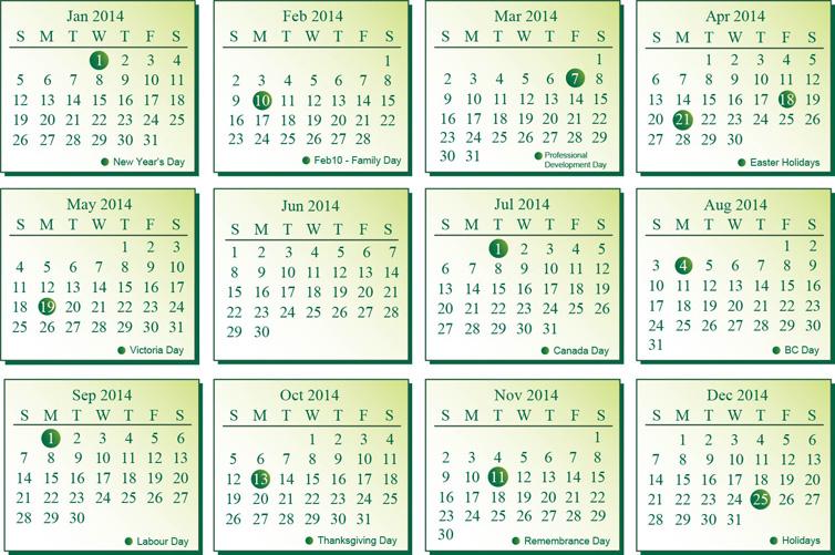 Beautiful 2014 Calendar Photo & images