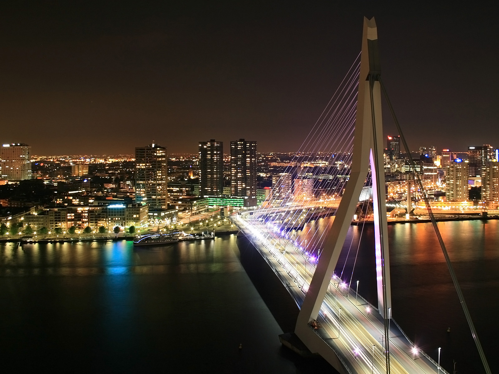Erasmusbrug Rotterdam Netherlands