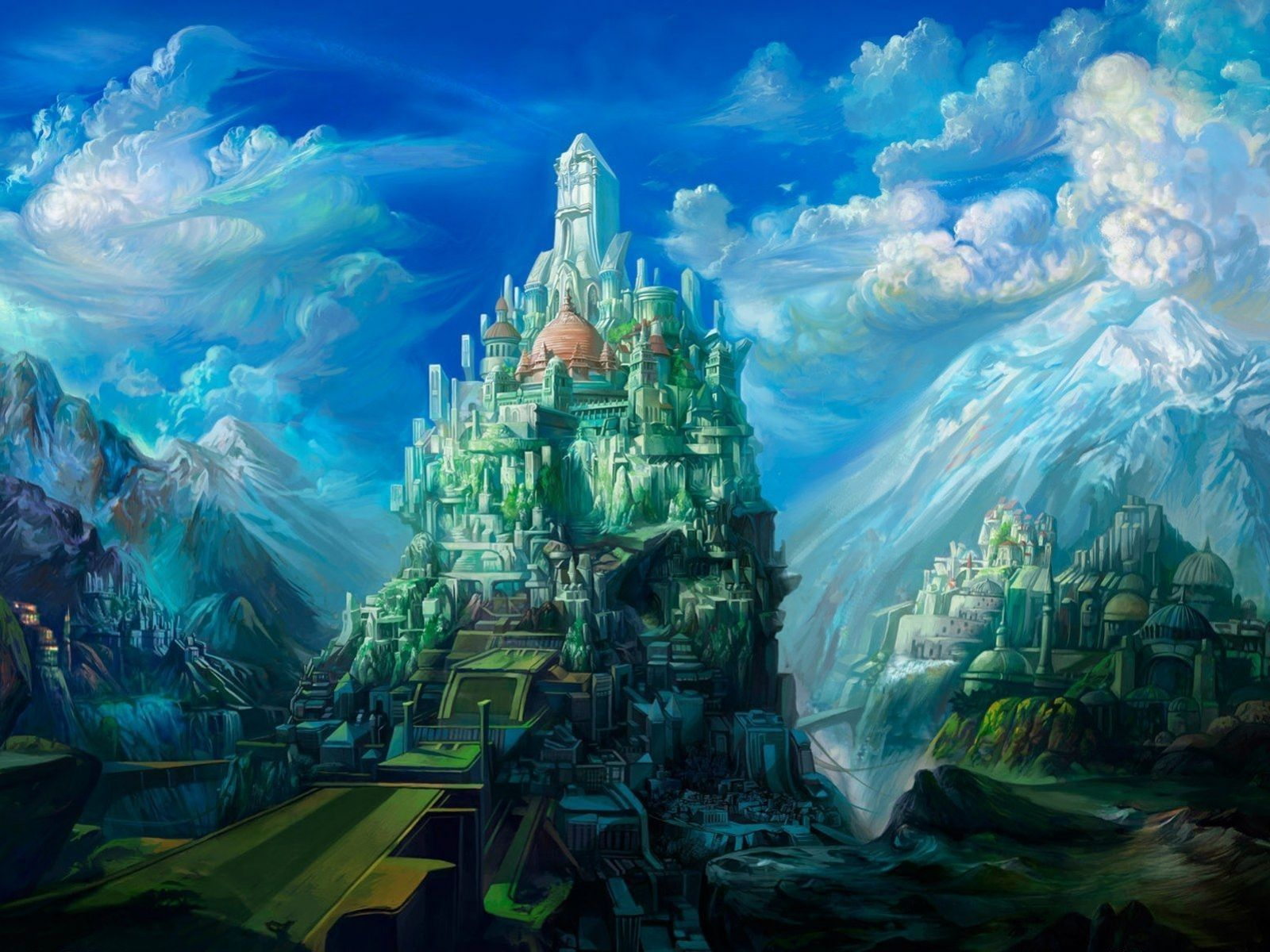 Fantasy Art Scenery Wallpapers