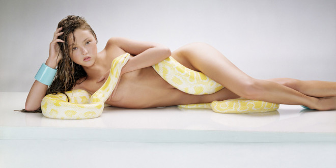 Girl with Yellow Snakes Pictures