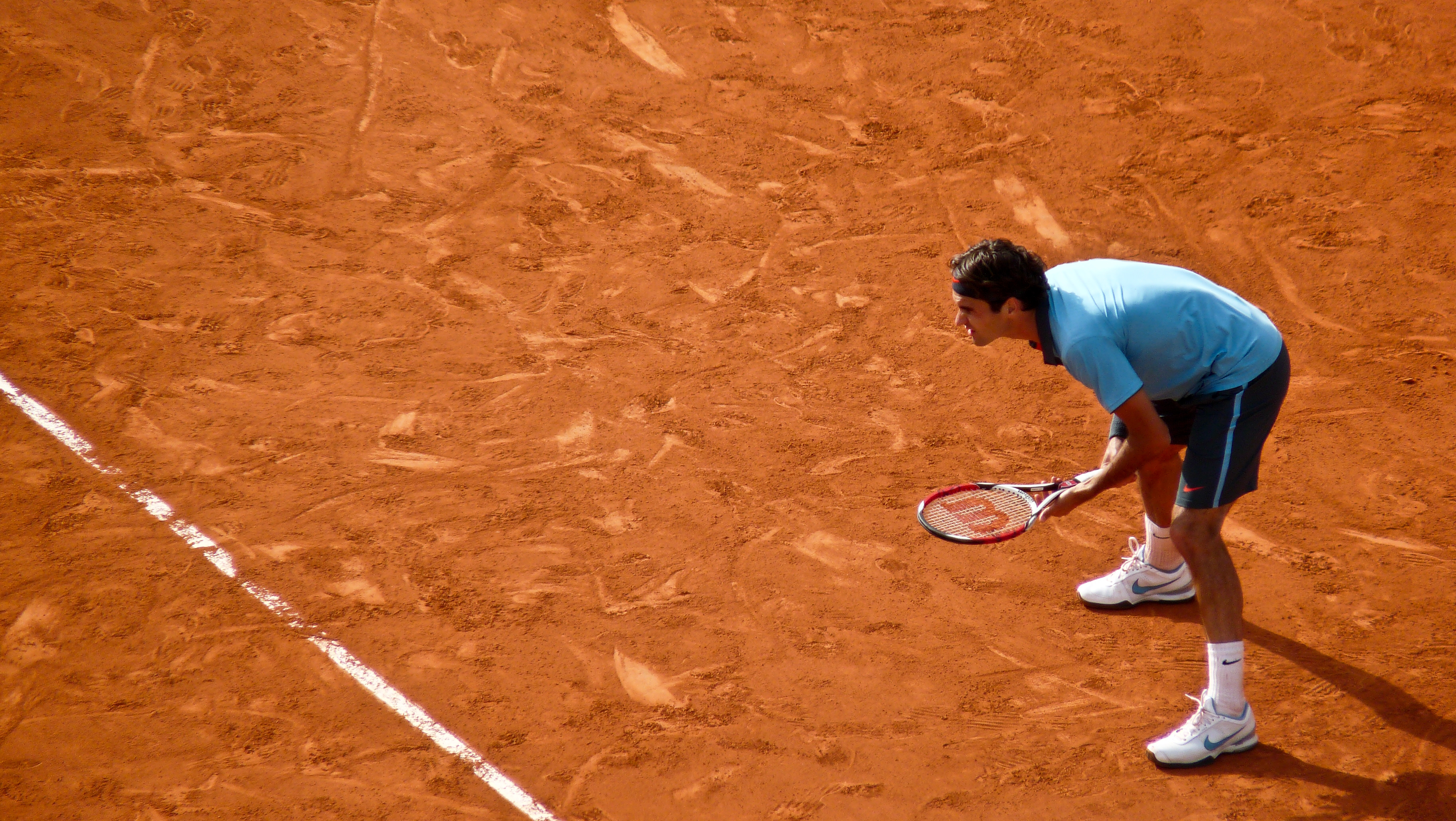 French Open tennis court wallpaper