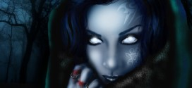 The Dark Muse Fantasy Art 3D Wallpaper