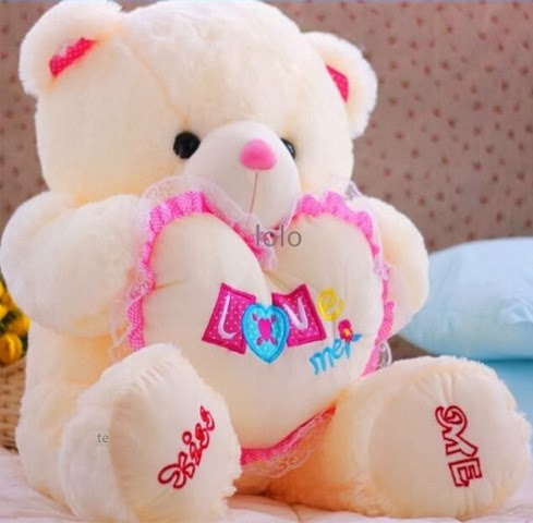 Valentines Day Beautifull HD Wallpapers Teddy 2014