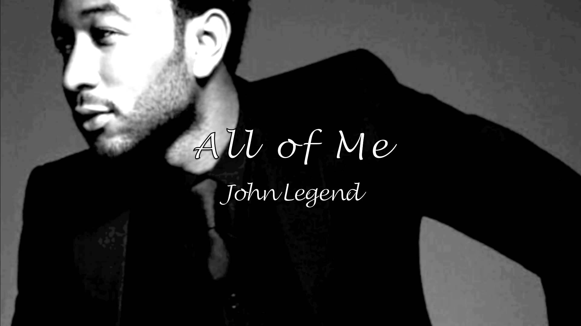 All Of Me John Legend