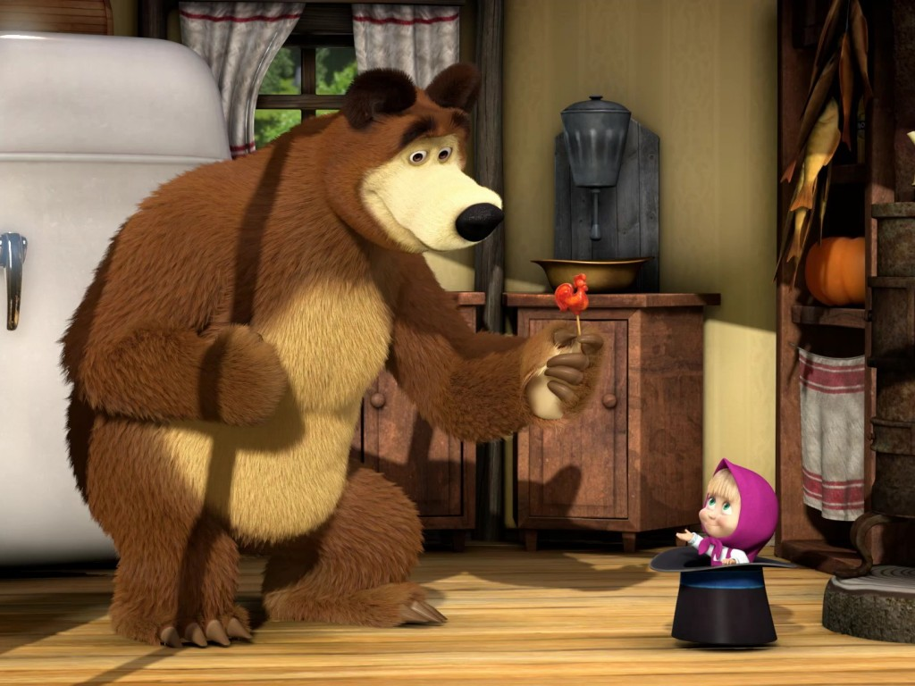 Masha And The Bear Wallpapers amp; Pictures  Hd Wallpapers
